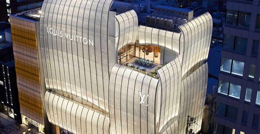 لویی ویتون در حال راه اندازی یک رستوران ژاپنی در داخل این فروشگاه است !!!