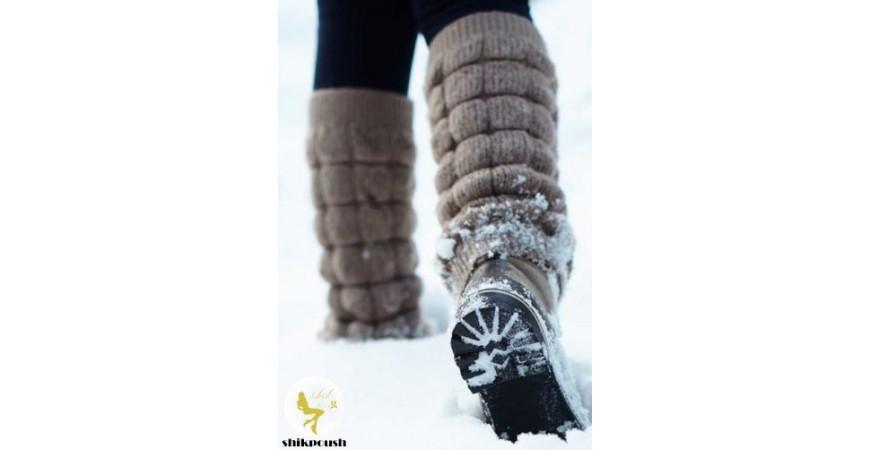 بهترین راه برای از بین بردن سفیدک های روی بوت و نیم بوت ها در فصل زمستان