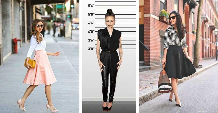 بهترین انتخاب لباس برای خانم های ریز نقش